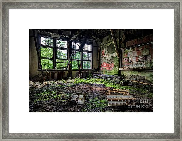 Vacant Framed Print