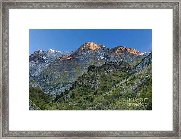 Valle Del Ara Framed Print