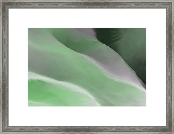 Valley Tuscany Iv Framed Print