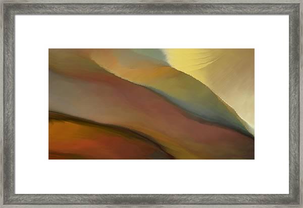 Valley Tuscany  Framed Print