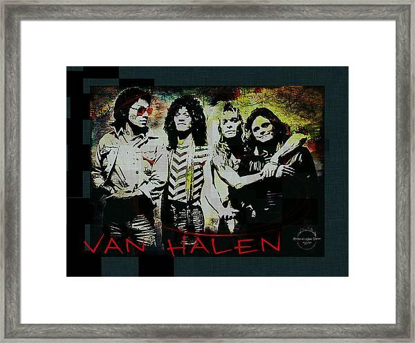 Van Halen - Ain't Talkin' 'bout Love Framed Print