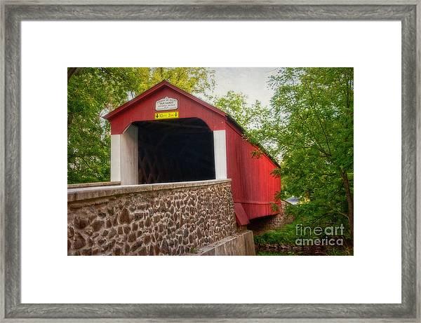 Van Sandt Bridge Framed Print