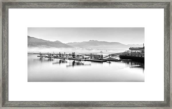 Vancouver Mist Framed Print