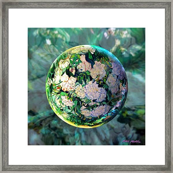 Vangloghing Roses Framed Print