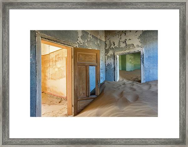 Vanish Into Oblivion Framed Print