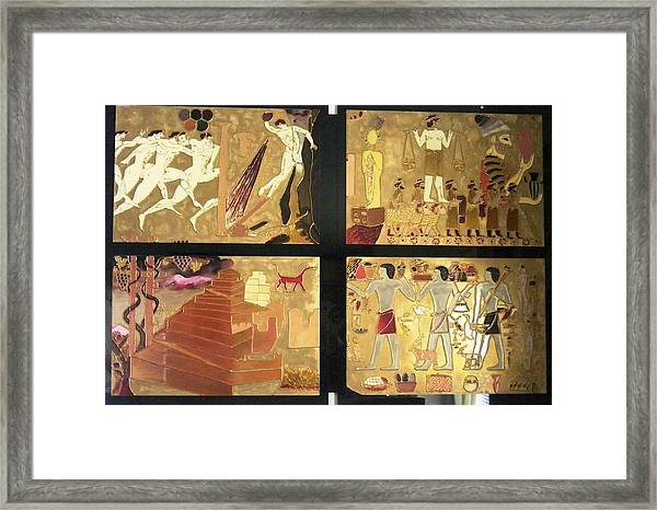 Vanished Civilization Framed Print