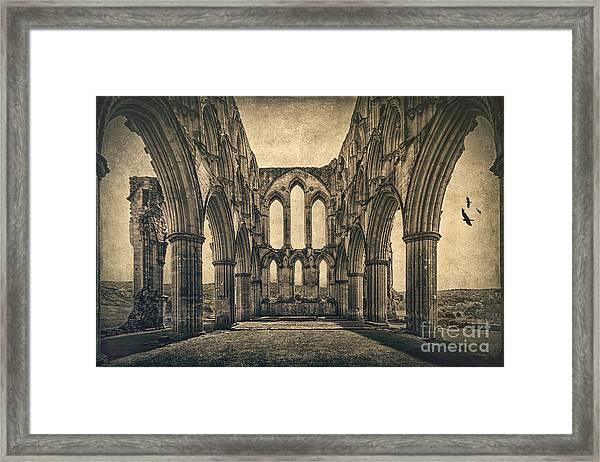 Vanishing Glory Framed Print