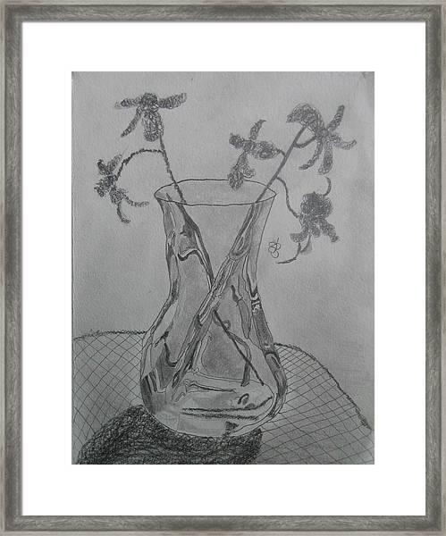 Vase Framed Print
