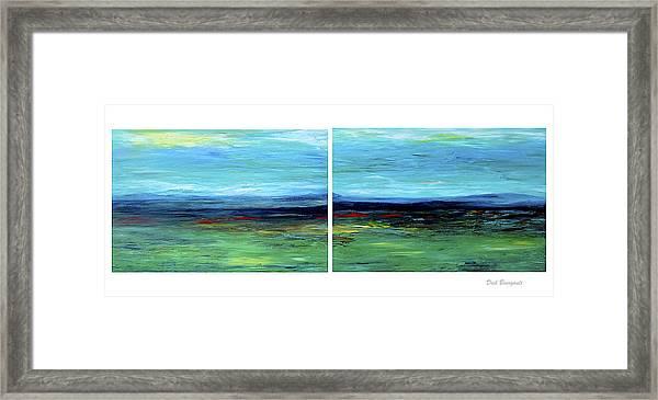 Vast Horizon Framed Print
