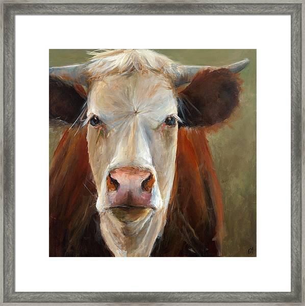 Veda Framed Print by Cari Humphry