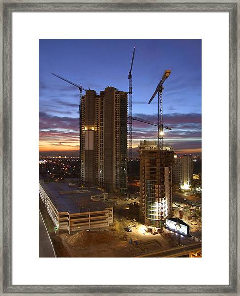 Vegas Expansion Framed Print