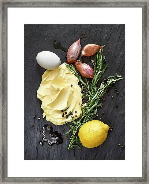 Vegetables II Framed Print