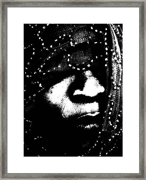 Veiled 71 Framed Print