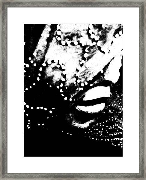 Veiled 713 Framed Print