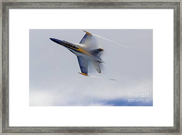 Veiled Angel Framed Print