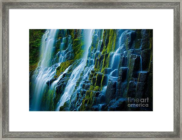 Veiled Wall Framed Print