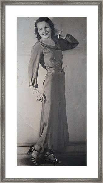 Velma Zerline Russell Framed Print