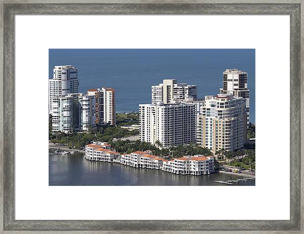 Venetian Bay Framed Print