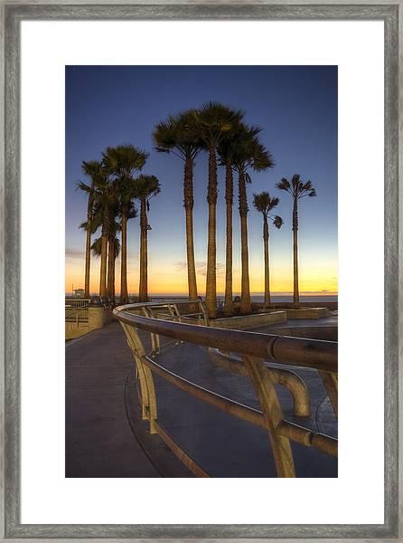 Venice Beach Framed Print