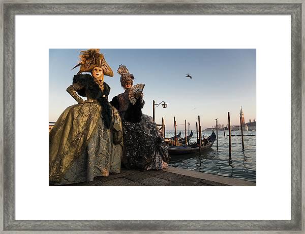 Venice Carnival '15 IIi Framed Print