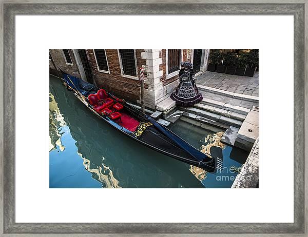 Venice Carnival '15 Framed Print