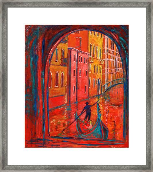Venice Impression Viii Framed Print