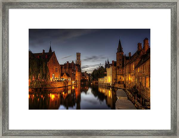 Venice Of The North Framed Print