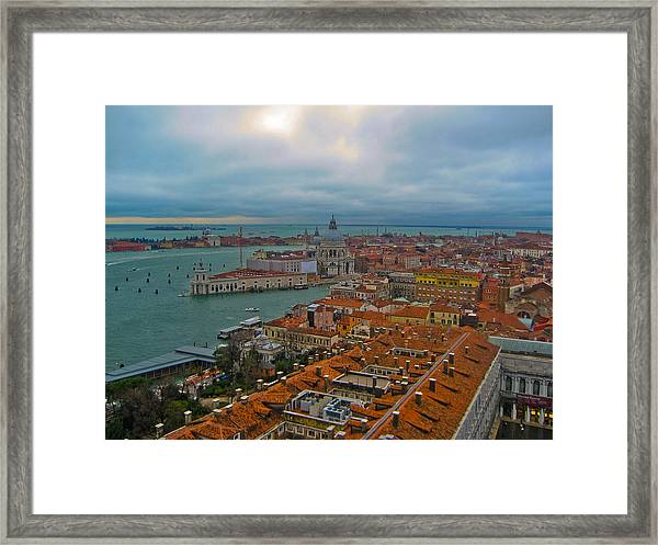 Venice Overlook Framed Print