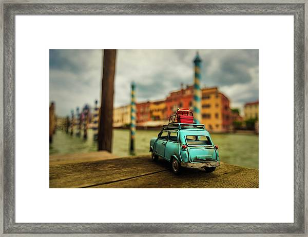Venice Stopped Framed Print by Luis Francisco Partida