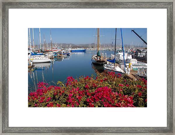 Ventura Harbor Framed Print