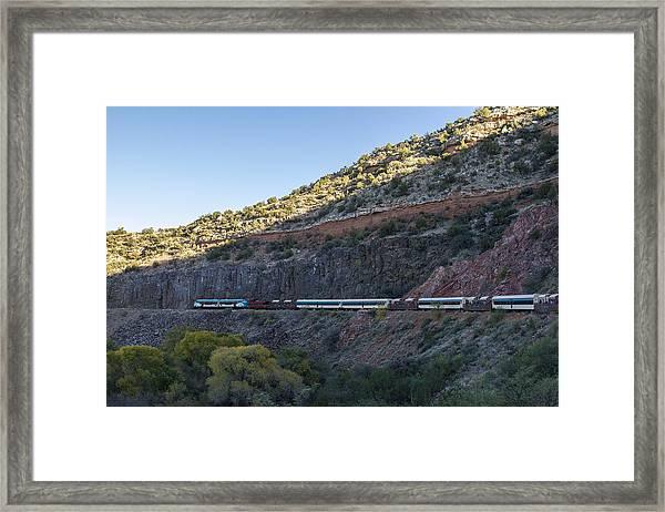 Verde Canyon Railway Landscape 1 Framed Print