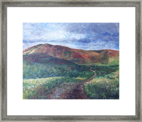Verde Framed Print by Susan Moore
