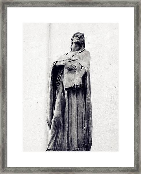 Veritas Framed Print