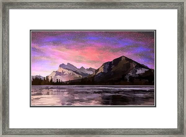 Vermilion Photo Art Framed Print