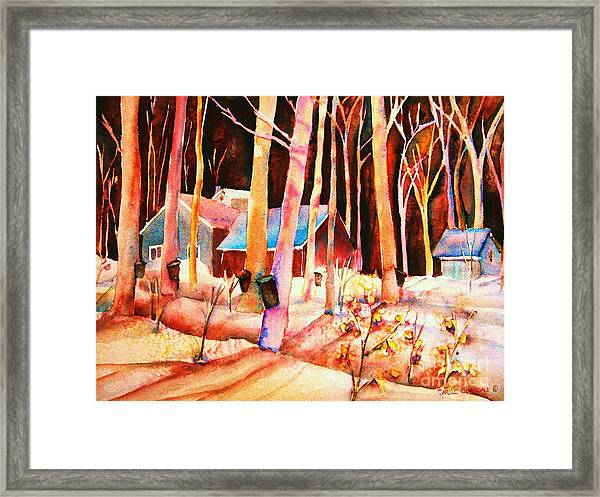 Vermont Maple Syrup Framed Print