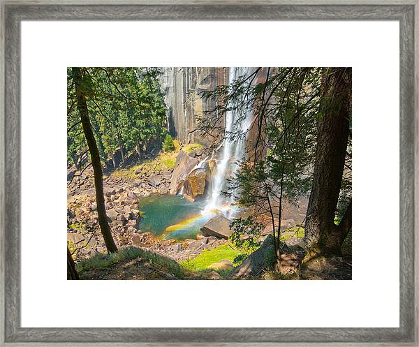 Vernal Rainbow Framed Print