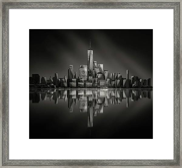 Vertex Framed Print