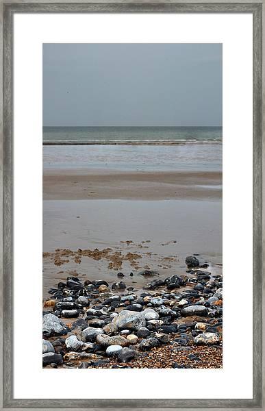 Vertical Beach II Framed Print