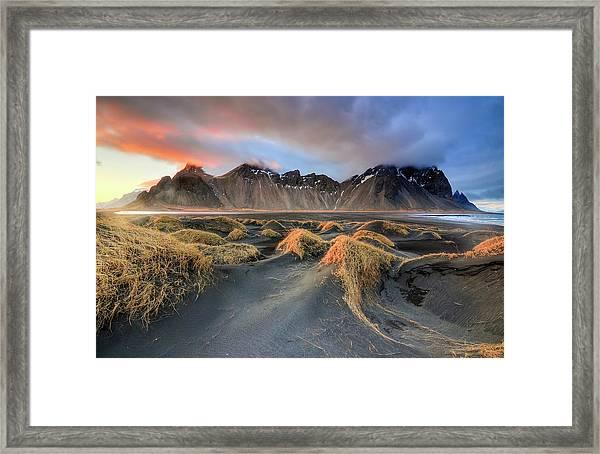 Vestrahorn Framed Print