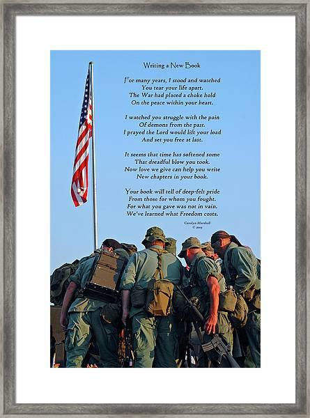 Veterans Remember Framed Print