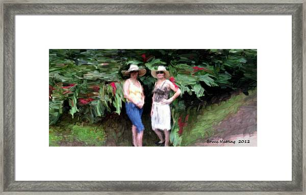 Victoria And Friend Framed Print