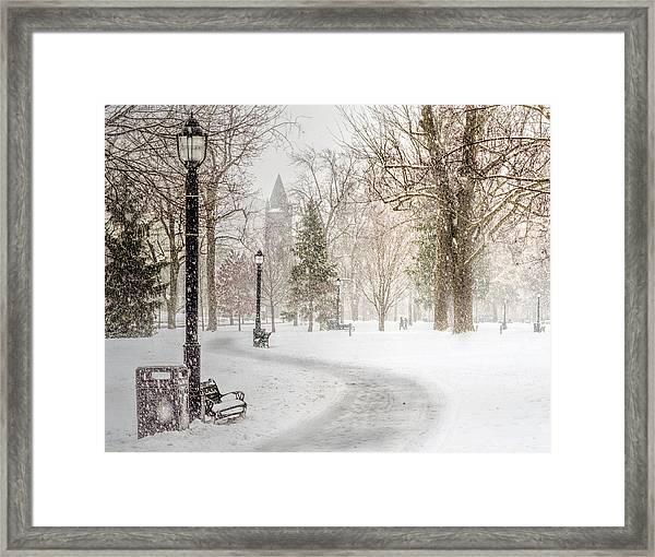 Framed Print featuring the photograph Victoria Park by Garvin Hunter