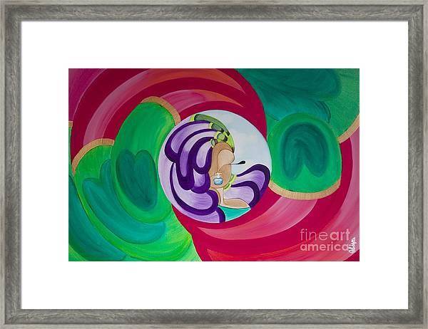 Victoria Peacock Framed Print