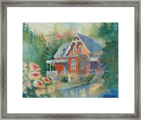 Victorian House Framed Print
