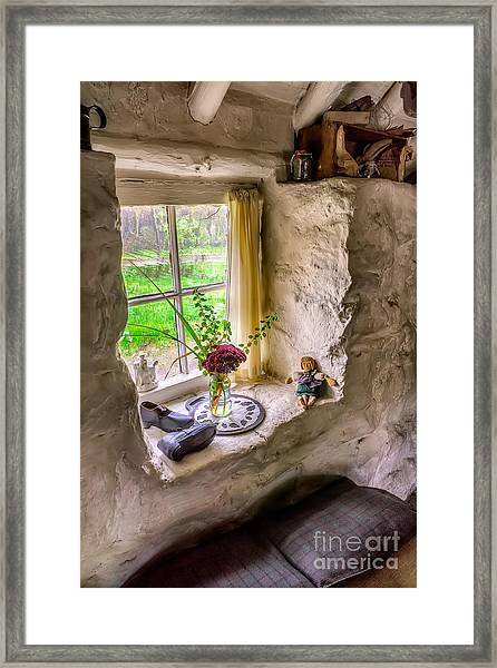 Victorian Window Framed Print
