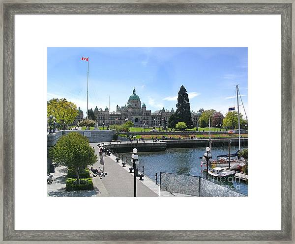 Victoria's Parliament Buildings Framed Print