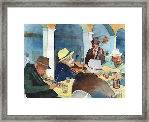 Vida De Musica Framed Print