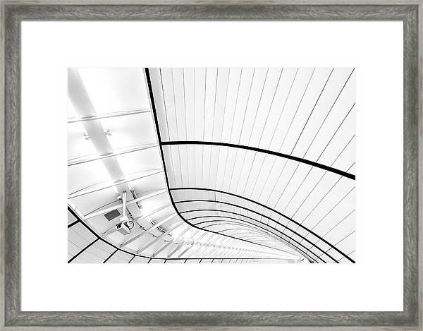 Video Surveillance Framed Print