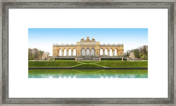 Vienna - Gloriette - Schoenbrunn Framed Print