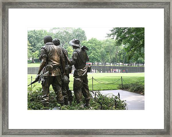 Vietnam Memorial 1 Framed Print